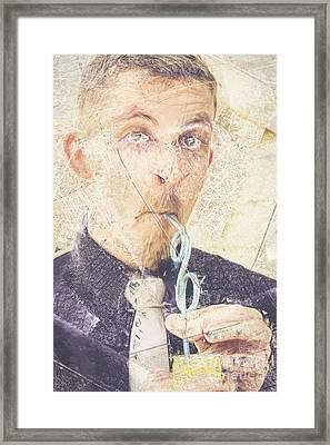 Comic Soda Poster Framed Print by Jorgo Photography - Wall Art Gallery