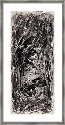 Coming Apart Framed Print by Rachel Christine Nowicki