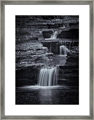 Coming Down Gently Framed Print by Evelina Kremsdorf