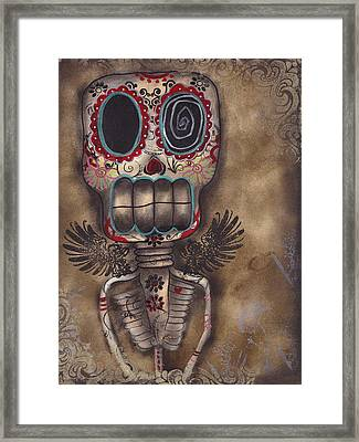 Coming For You Framed Print by  Abril Andrade Griffith