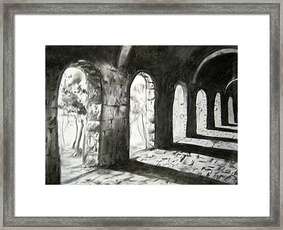 Coming Forward Framed Print by Alice Chen