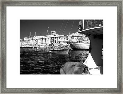 Coming Home In Marseille Framed Print by John Rizzuto
