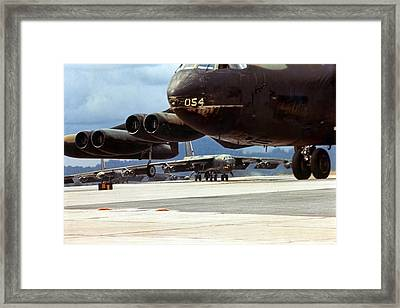 Coming Home To Base Framed Print by Peter Chilelli