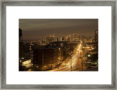 Coming Or Going Framed Print by Tim Wilson