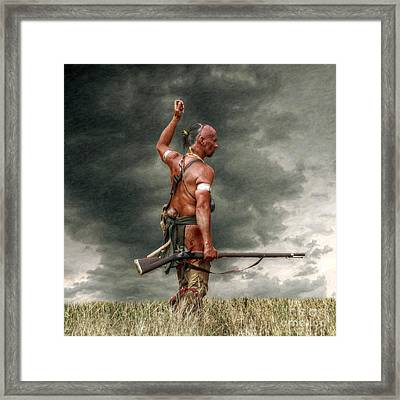 Coming Storm Framed Print by Randy Steele