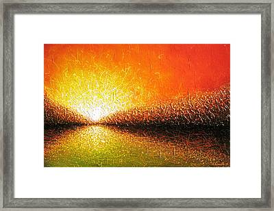 Common Thread Framed Print by Jaison Cianelli