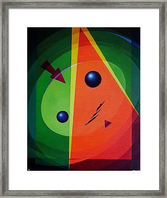 Compass Framed Print by Alberto D-Assumpcao