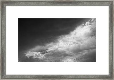 Competing Forces Framed Print by Glenn McCarthy