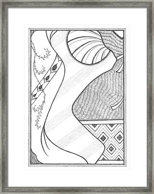 Competition Framed Print by Cecily McKeown