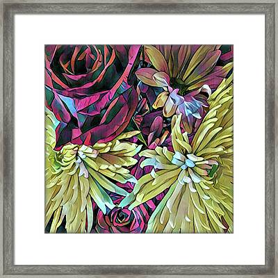 Complements Framed Print by Shadia