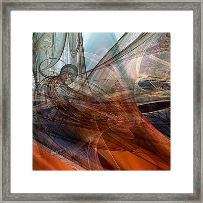 Complex Decisions Framed Print by Ruth Palmer
