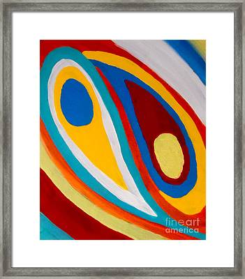 Complimentary Opposition Framed Print by Jilian Cramb - AMothersFineArt