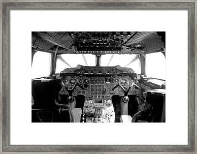 Concorde Cockpit Framed Print by Patrick  Flynn