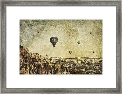 Concrete Skies Framed Print by Andrew Paranavitana
