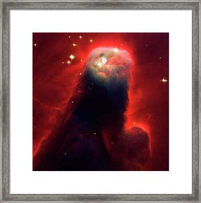 Cone Nebula Framed Print by Mark Kiver