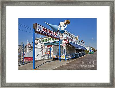 Coney Island Memories 11 Framed Print by Madeline Ellis