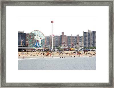Coney Island, New York Framed Print by Ryan McVay