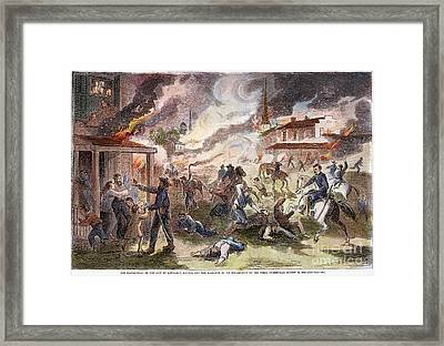 Confederate Guerillas 1863 Framed Print by Granger