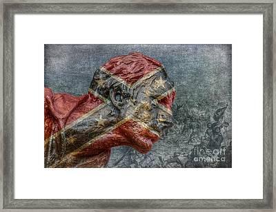 Confederate Veteran  Framed Print by Randy Steele
