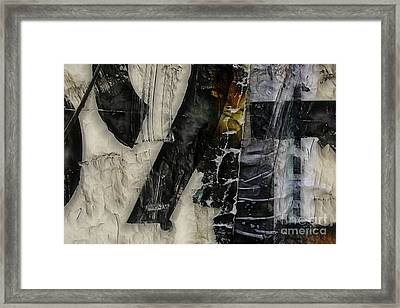 Conflate Framed Print by Jason Ince
