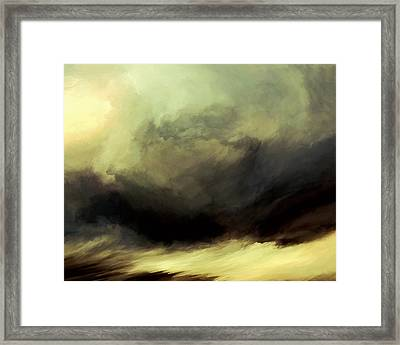Conflict Of Meditation Framed Print by LC Bailey