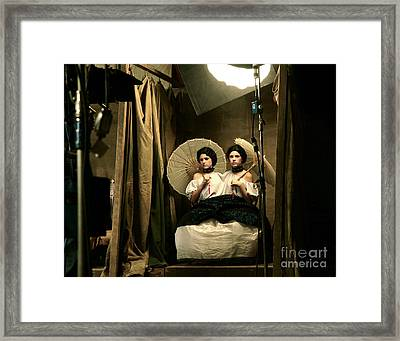 Conjoined Framed Print by Glennis Siverson