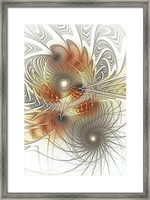 Connection Game Framed Print by Anastasiya Malakhova