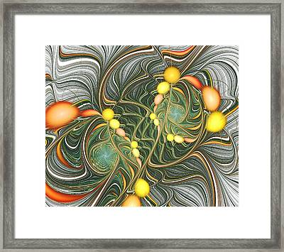 Connections Framed Print by Anastasiya Malakhova