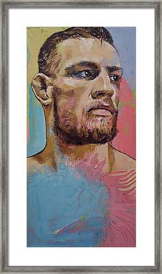 Conor Framed Print by Michael Creese