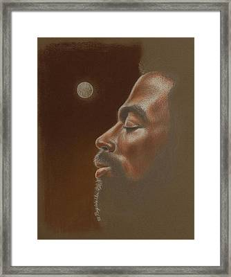 Consider The Moon Framed Print by Raymond Walker