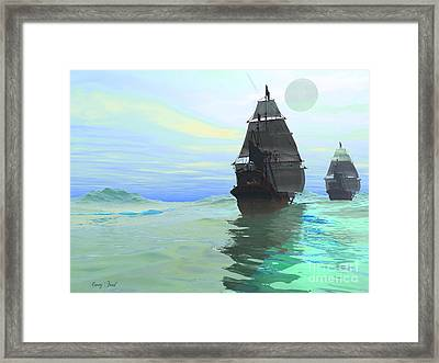 Consort Framed Print by Corey Ford