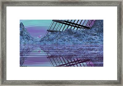 Construction And Destruction Framed Print by Wayne Bonney