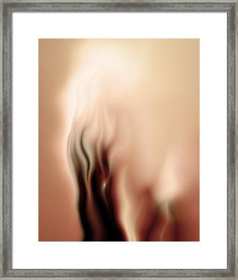 Consumed By Desire Framed Print by Vic Eberly