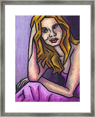 Contemplation Framed Print by Kamil Swiatek