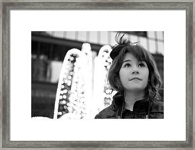 Contemplation Framed Print by Lisa Knechtel