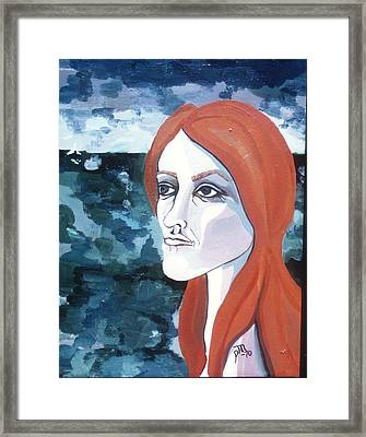 Contemplation Of Serenity Framed Print by Pamela Maloney