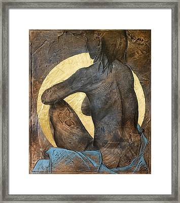 Contemplation Framed Print by Richard Hoedl
