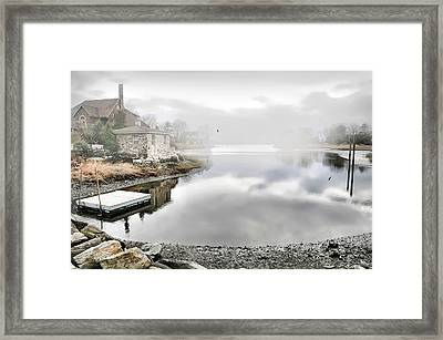Contentment Island Framed Print by Diana Angstadt