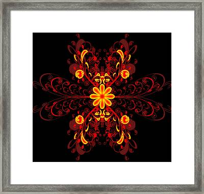 Continental Abstract Framed Print by Svetlana Sewell
