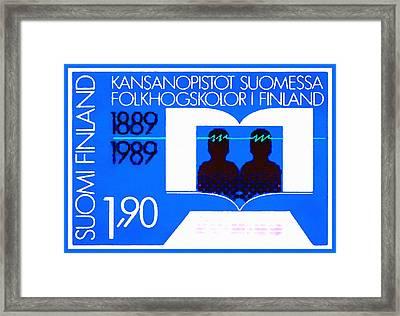 Continuing Education In Finland Framed Print by Lanjee Chee