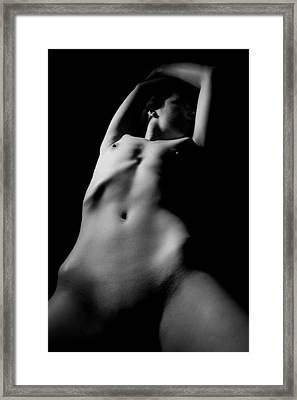 Contours Framed Print by Joe Kozlowski