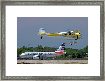 Contrast Framed Print by Guy Whiteley