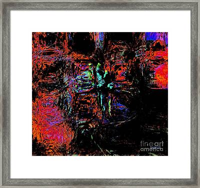 Control Not Circumstances But Control Self In All Circumstances Framed Print by Fana Simon