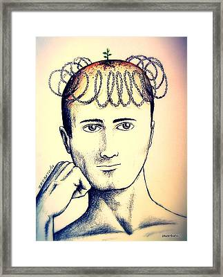 Control Of Intellectual Property Framed Print by Paulo Zerbato