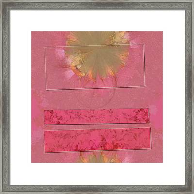 Convection Daydream Flowers  Id 16164-021948-54471 Framed Print by S Lurk