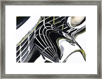 Conveluted Framed Print by Rebecca Cozart