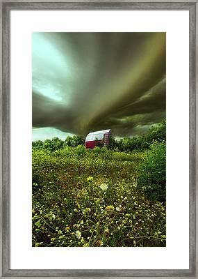 Convergence Framed Print by Phil Koch