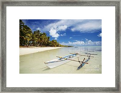 Cook Islands, Aitutaki Framed Print by Bob Abraham - Printscapes