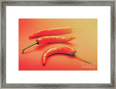 Cooking Pepper Ingredient Framed Print by Jorgo Photography - Wall Art Gallery