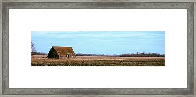 Cool Spring Sky Framed Print by Jame Hayes